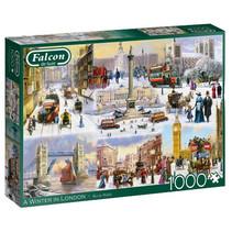 legpuzzel A Winter In London 1000 stukjes