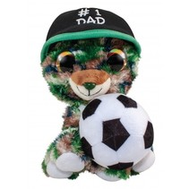 knuffel Lumo Father's Day Bear #1 15 cm multicolor