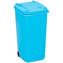 pennenbakje container 9,5 x 8 x 15,5 cm polypropyleen blauw