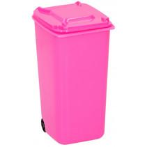pennenbakje container 9,5 x 8 x 15,5 cm polypropyleen roze