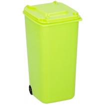 pennenbakje container 9,5 x 8 x 15,5 cm polypropyleen groen