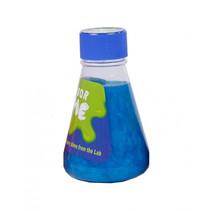 slijm in laborantenfles junior 13 cm blauw