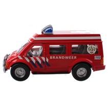 brandweerauto rood 26 cm