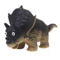 knijpfiguur dinosaurus zwart 14 cm