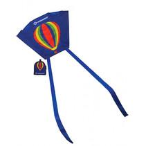 mini vlieger luchtballon 45 cm polyester 2-delig