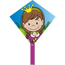 vlieger Magic Kite Mini Eddy prinses 30 cm polyester