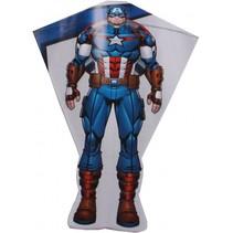 vlieger Captain America 80 x 56 cm