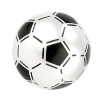 bal voetbalprint wit 21 cm