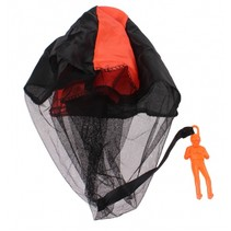 parachutespringer 9 cm oranje