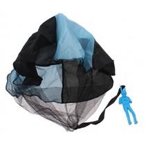parachutespringer 9 cm blauw
