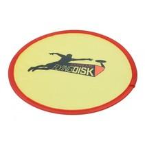 frisbee junior 22 cm nylon geel
