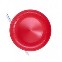 balanceerbord met stok 23,5 cm rood