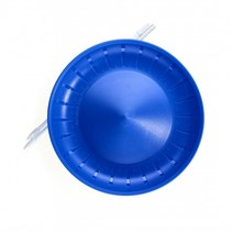 balanceerbord met stok 23,5 cm blauw