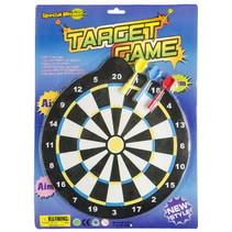 magnetisch dartspel junior 25 cm zwart/wit 4-delig