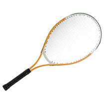 tennisracket junior 25 inch aluminium oranje/wit