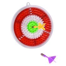 dartbordset junior 16,1 cm rood/wit 3-delig