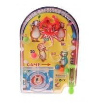 pinball mini game 11 cm geel