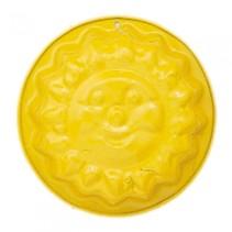 zandvormpje zonnetje 11 cm geel