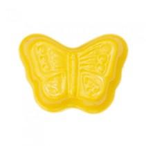 zandvormpje vlinder 11 cm geel