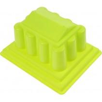 zandvorm Griekse Tempel groen 18 x 15 x 6 cm
