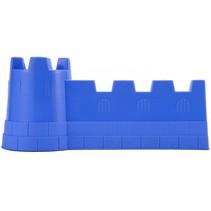 kasteelmuur zandspeelgoed junior 40 x 19 cm blauw