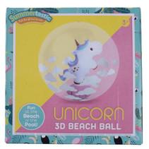 strandbal Unicorn 3D 30 cm vinyl