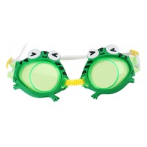 zwembril kikker 16,5 cm groen