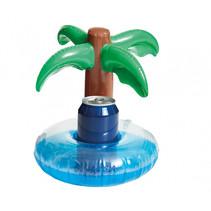 opblaasbare bekerhouder Palmboom 25 cm