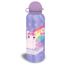 bidon unicorn aluminium paars 500 ml
