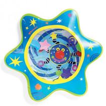 watermat Whoozit junior 35,6 cm vinyl blauw