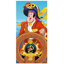 strandlaken Piet Piraat junior 70 x 140 cm katoen