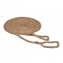 schommeltouw met lussen 5 m blank touw