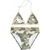 bikini Military meisjes polyester legergroen