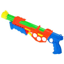 waterpistool 2-in-1 junior 48 cm oranje 7-delig