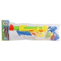 waterpistool 2-in-1 junior 48 cm geel 7-delig