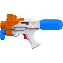 waterpistool Aqua Fun Blaster 28 cm blauw/oranje