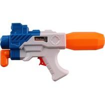 waterpistool Aqua Fun Blaster 28 cm oranje/blauw