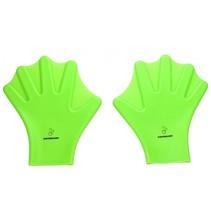 snorkel zwemvliezen handschoenen onesize groen