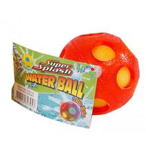 waterbal met licht junior 6,5 cm spons oranje
