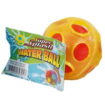 waterbal met licht junior 6,5 cm spons geel