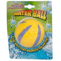 waterbal junior 8 cm geel
