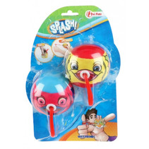 waterbommen Splash junior blauw/rood 2-delig