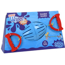 splashbal blauw 20 cm + 10 waterballonnen