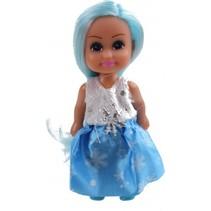 tienerpop Sparkle Girlz Winter Princess 11 cm blauw
