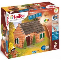 bouwdoos Historisch huis 42,5 cm karton bruin 374-delig