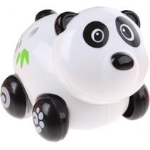 babypanda op wielen zwart/wit