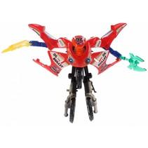 Roboforces transformation motor rood 11 cm