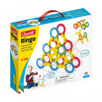 stapelspel Ringo junior blauw/rood/geel 60-delig