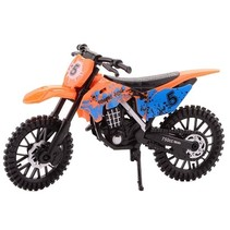 crossmotor oranje 17.5 cm