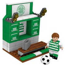 bouwpakket kleedkamer Celtic 13 x 10 cm 92-delig